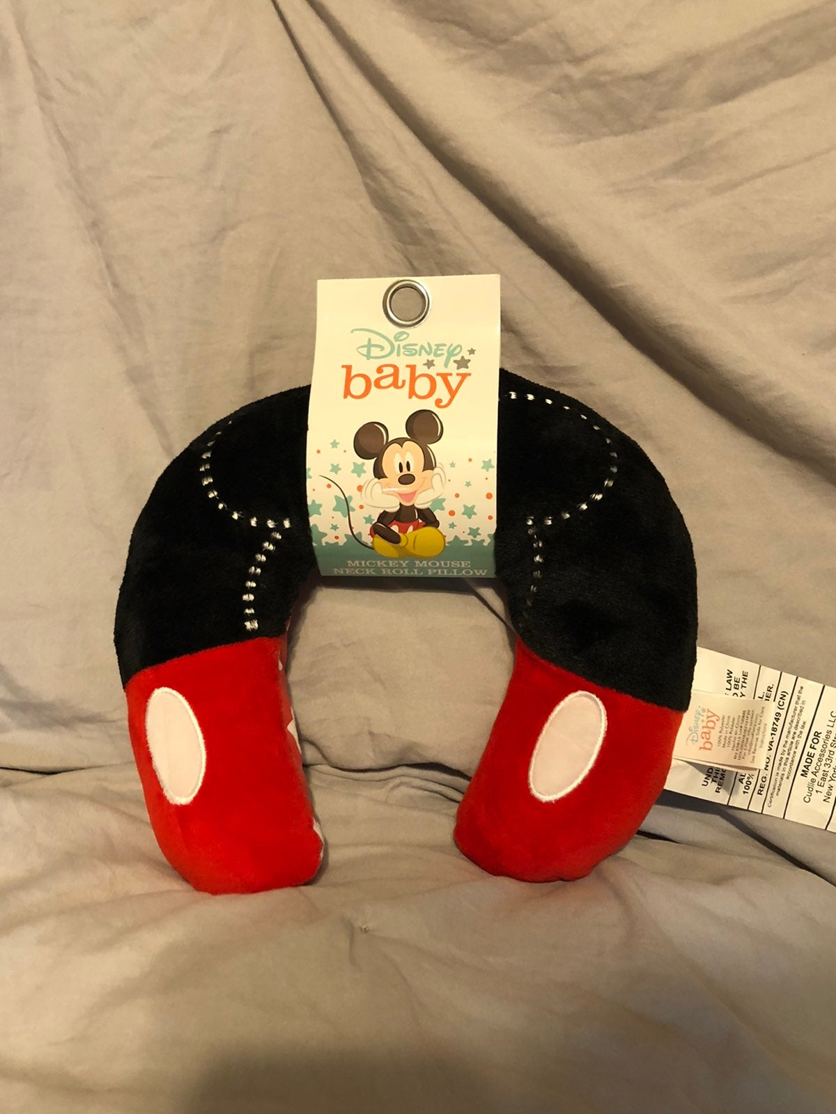 Disney Baby Mickey Mouse Neck Roll Pals