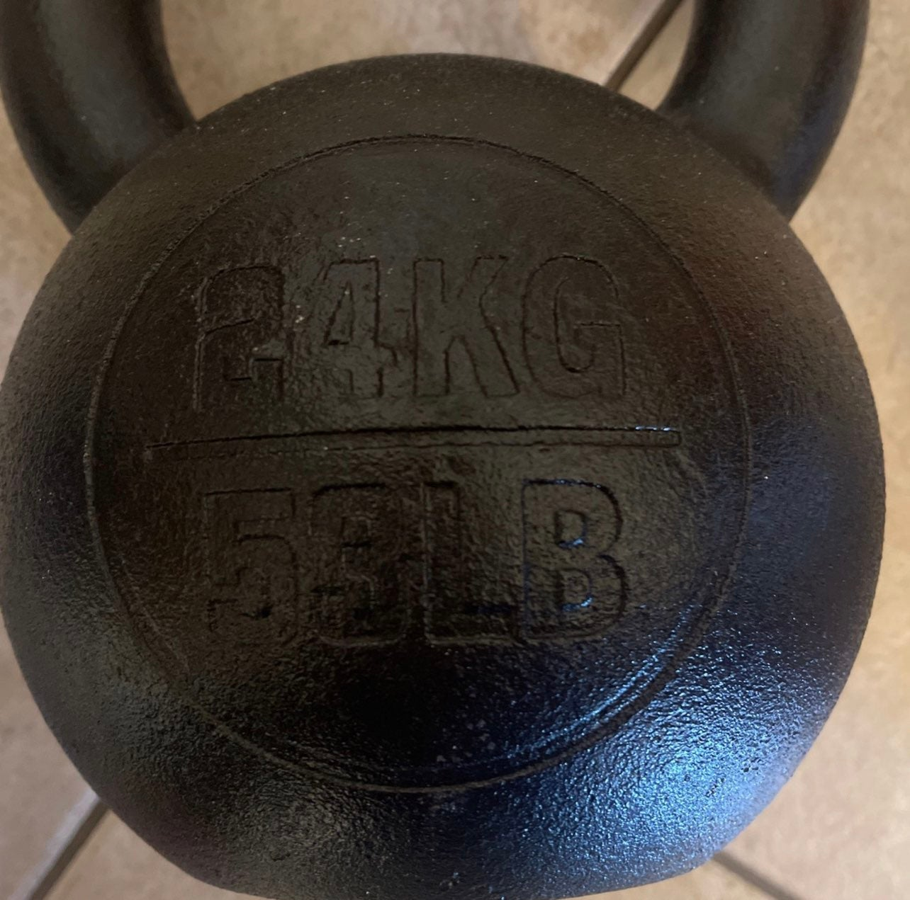 Rogue fitness crossfit kettlebell 53lbs