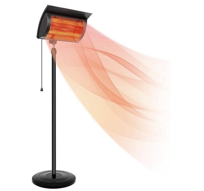 Simple Deluxe Standing Heater Patio Out