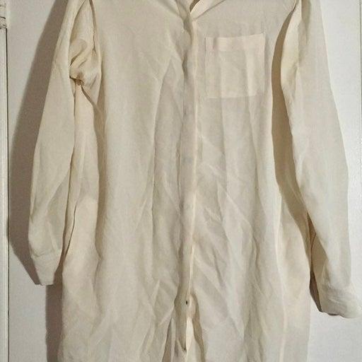 Allsaints silk blouse size 0