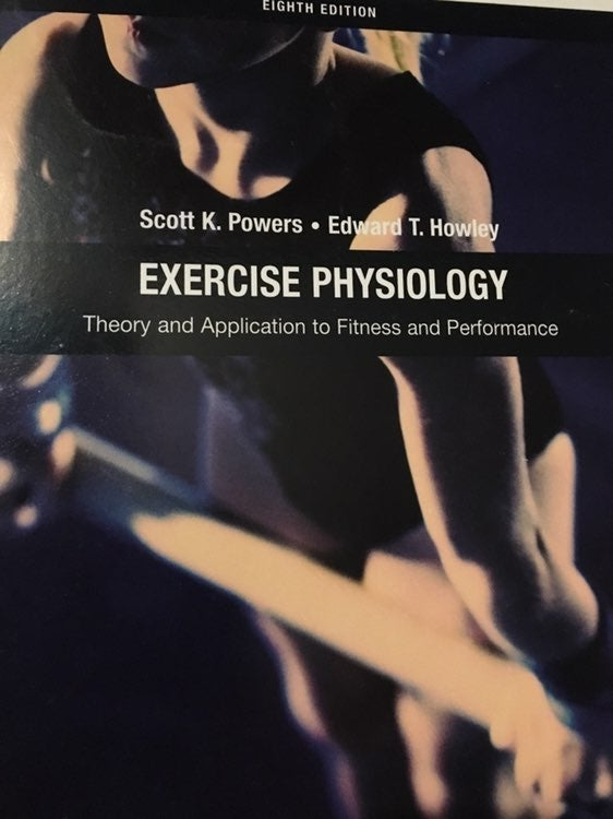Exercise Physiology Eighth Edition