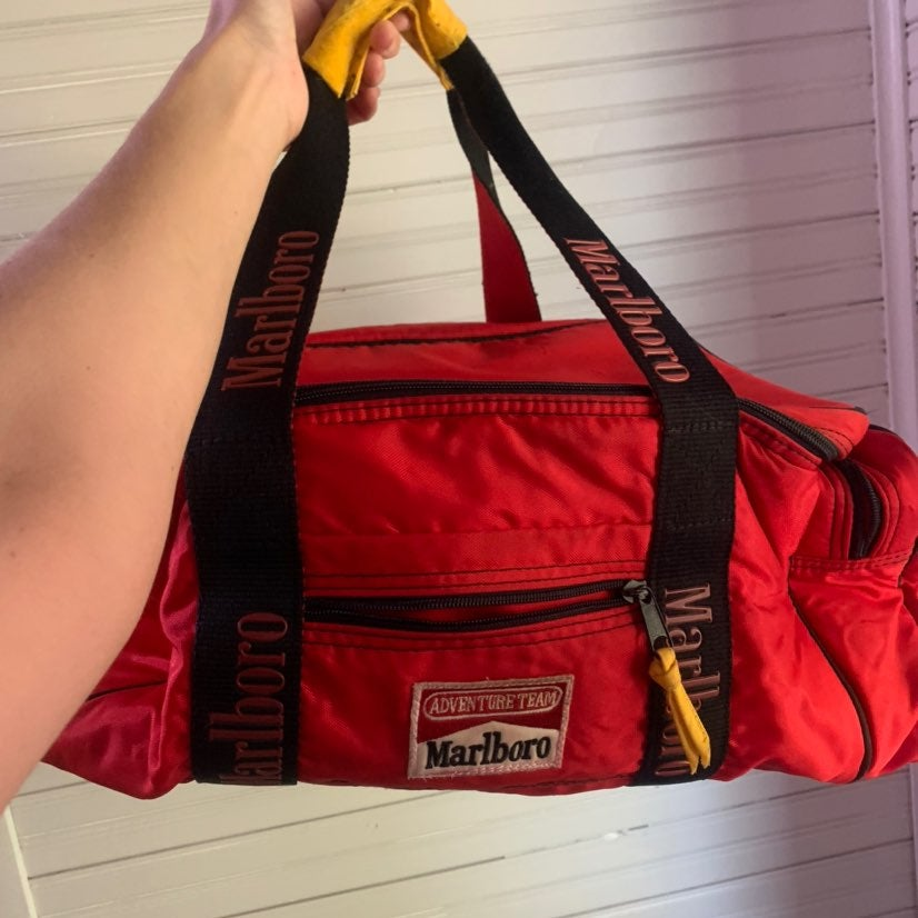 Vintage Marlboro cooler bag
