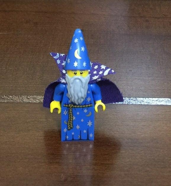 Lego Wizard Mini Figure