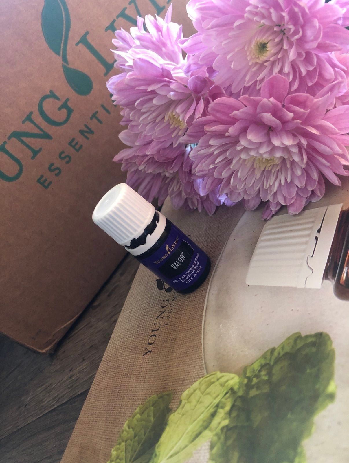 Valor young living essential oil