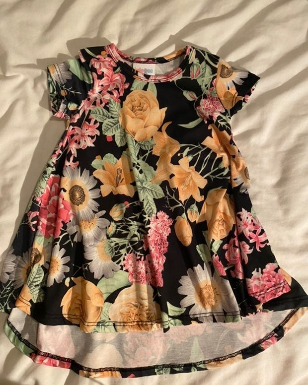 LulaRoe girls 2T dress