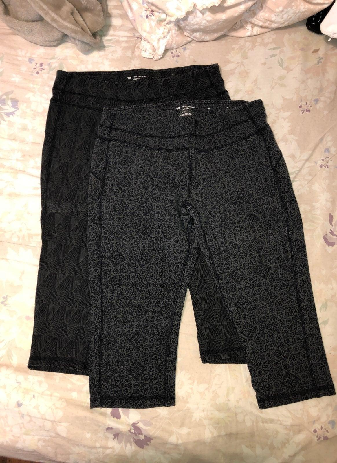 (2) Tek Gear Yoga Pants