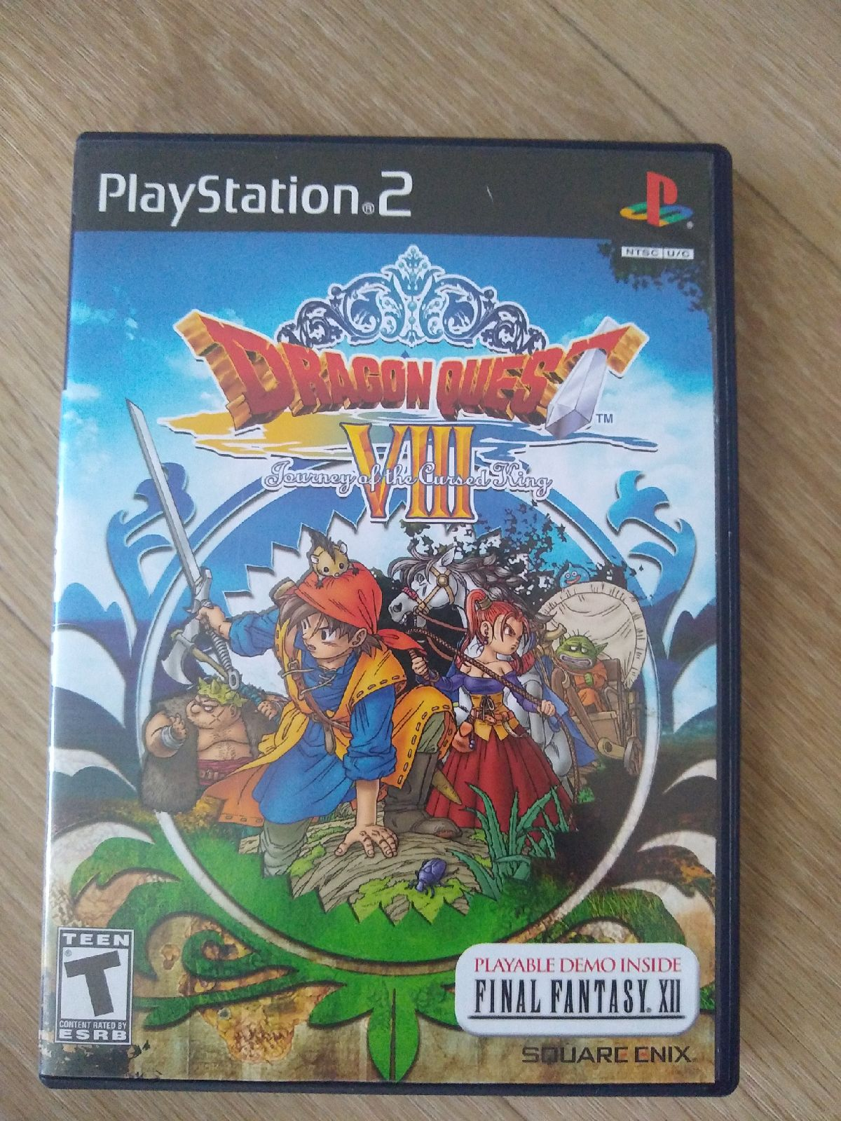 Dragon Quest VIII 8 PlayStation 2 PS2