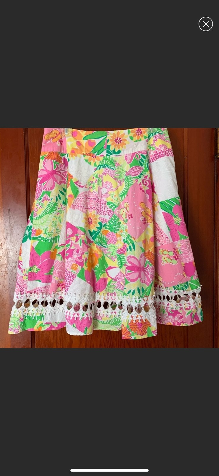 Lilly Pulitzer Vintage Lemon Sorbet Long