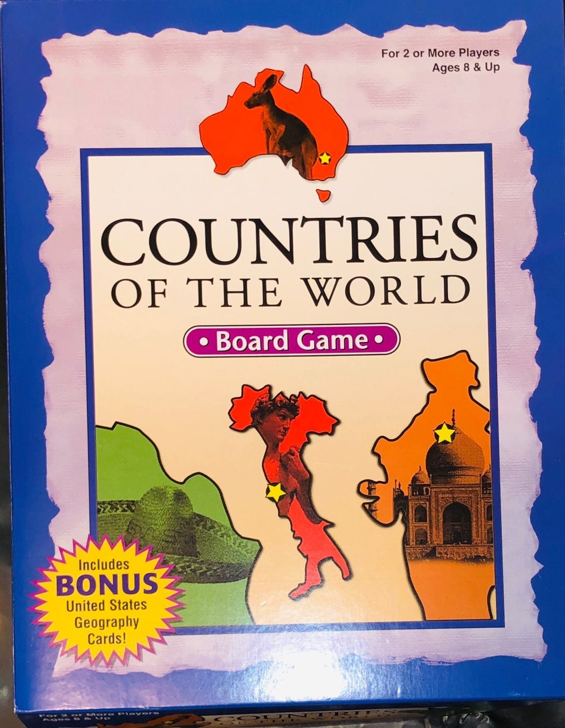 Patch Countries of The World Board Game