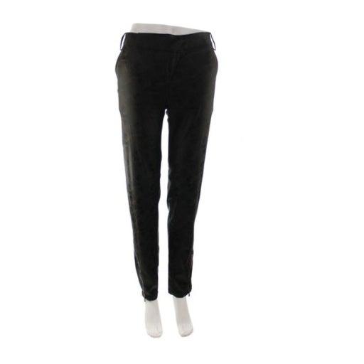 CUSTO BARCELONA Brown Satin Pants Size 8