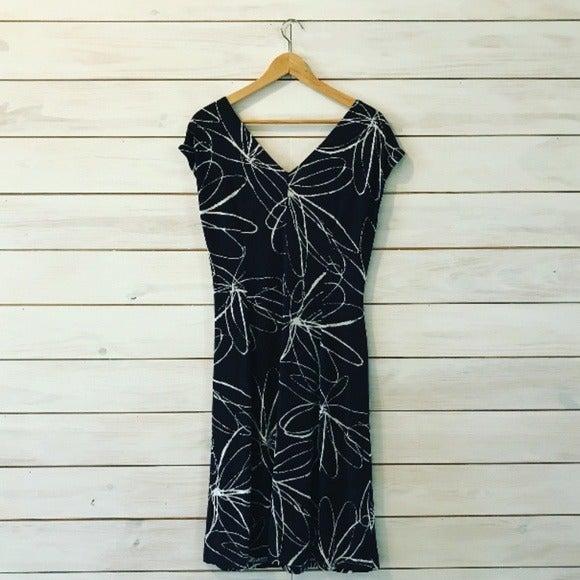 Lady Hathaway Floral Print Dress