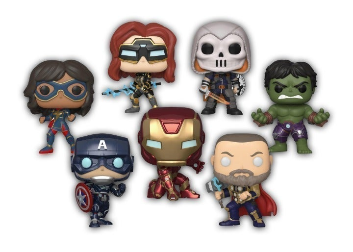 ✅Bundle 7 Funko Pop Avengers Stark Suit