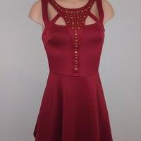286d97686cb Charlotte Russe Party Wine Dress