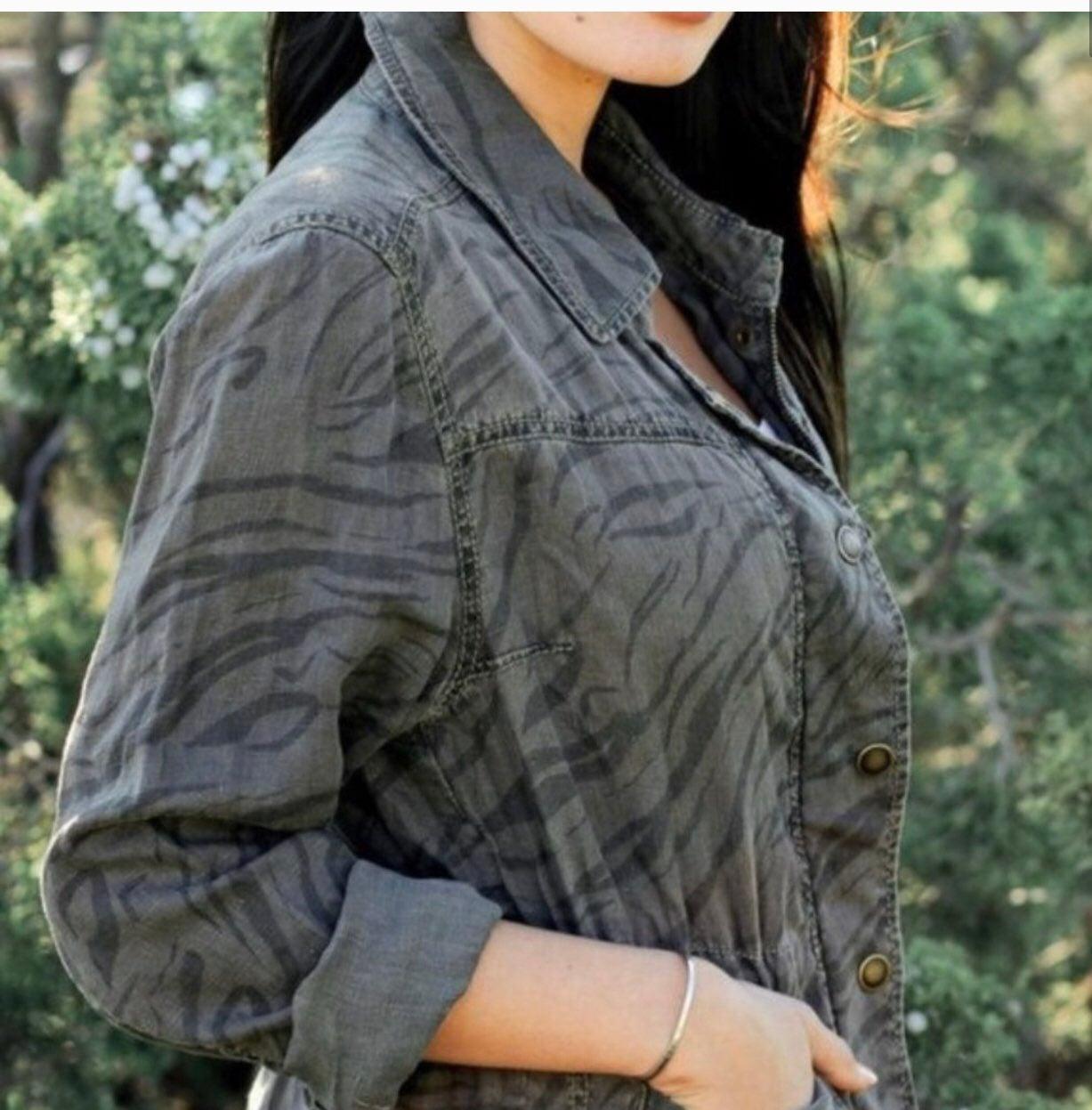 Anthro Marrakech Sierra Linen Jacket