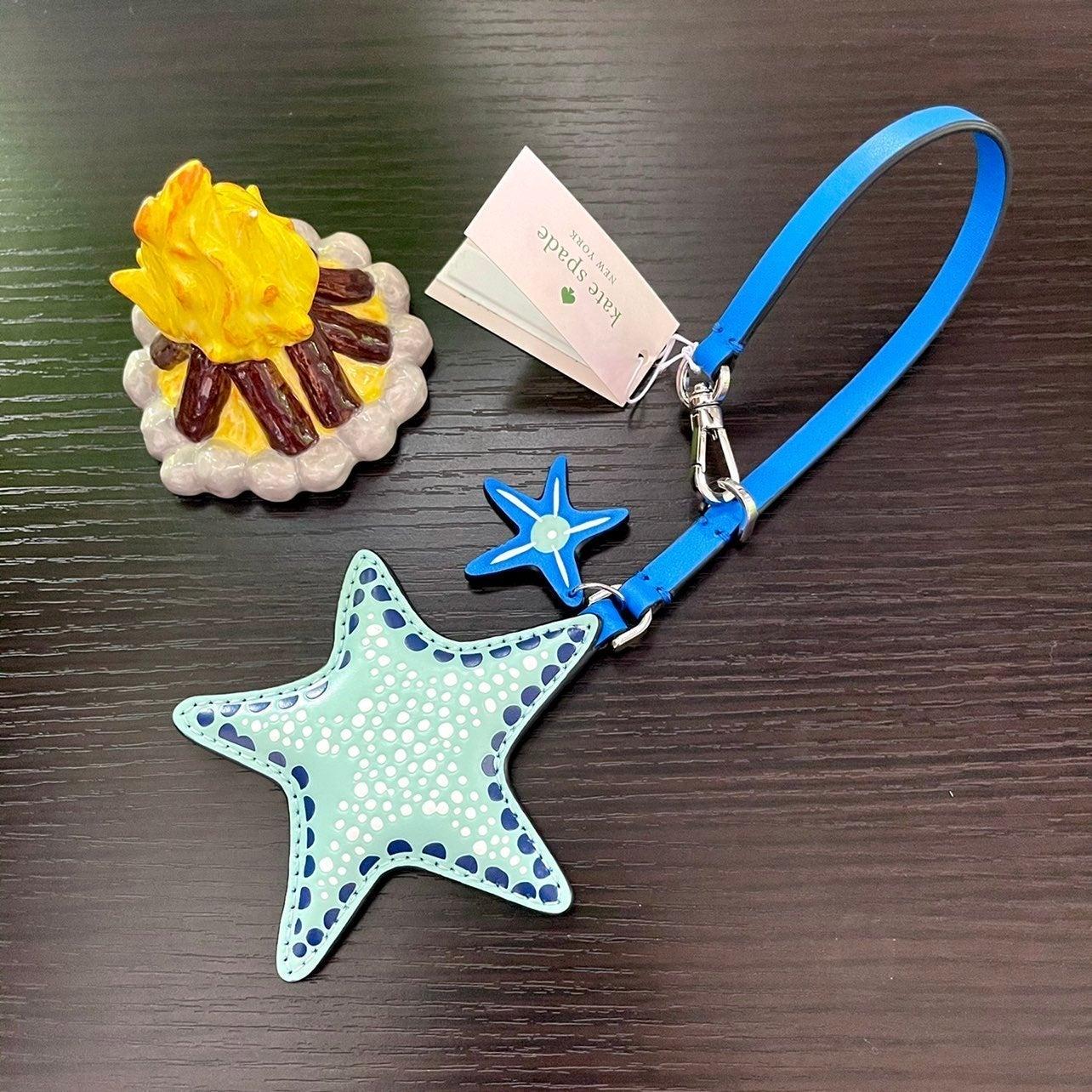 Kate Spade Starfish Bag Charm Key Fob