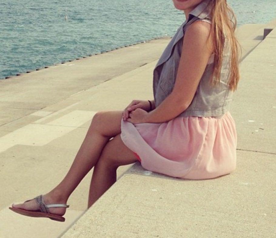 Ballet style skirt