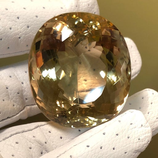 Stunning 291 Carat Citrine Crystal Gem
