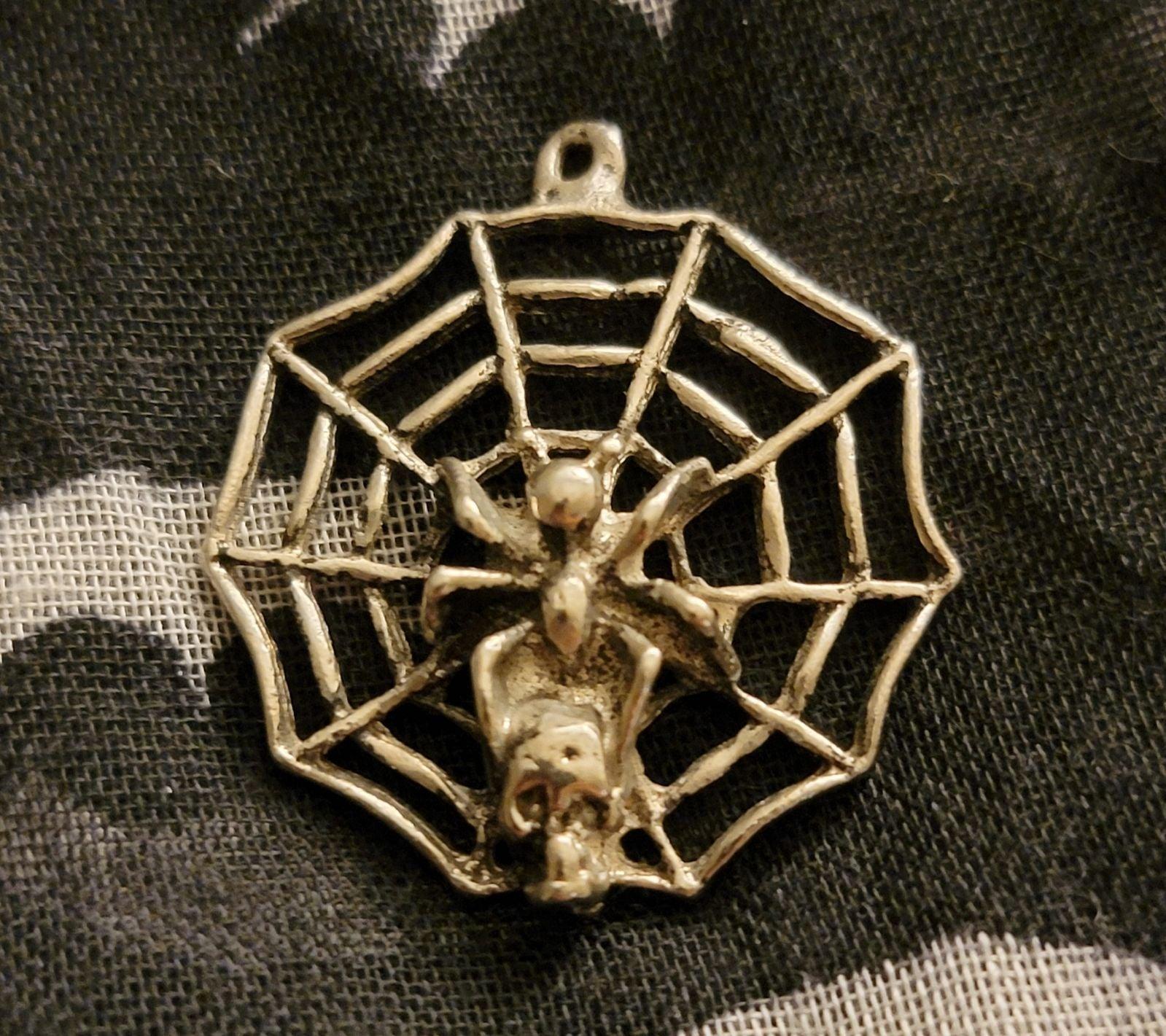 Black Widow Charm Pendant