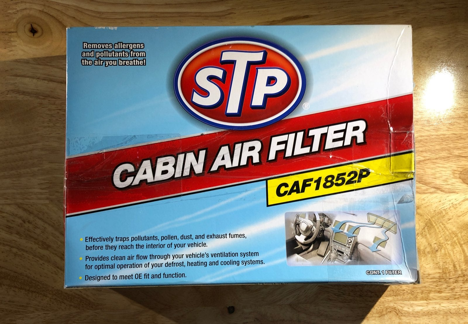STP Cabin Air Filter (CAF185P)