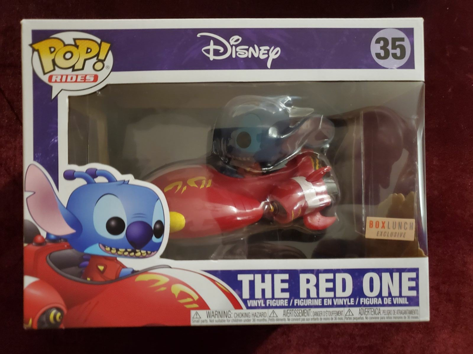 The Red One Funko Pop