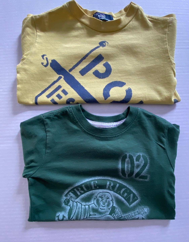 TRUE RELIGION/POLO 2pc Infant Boys Shirt