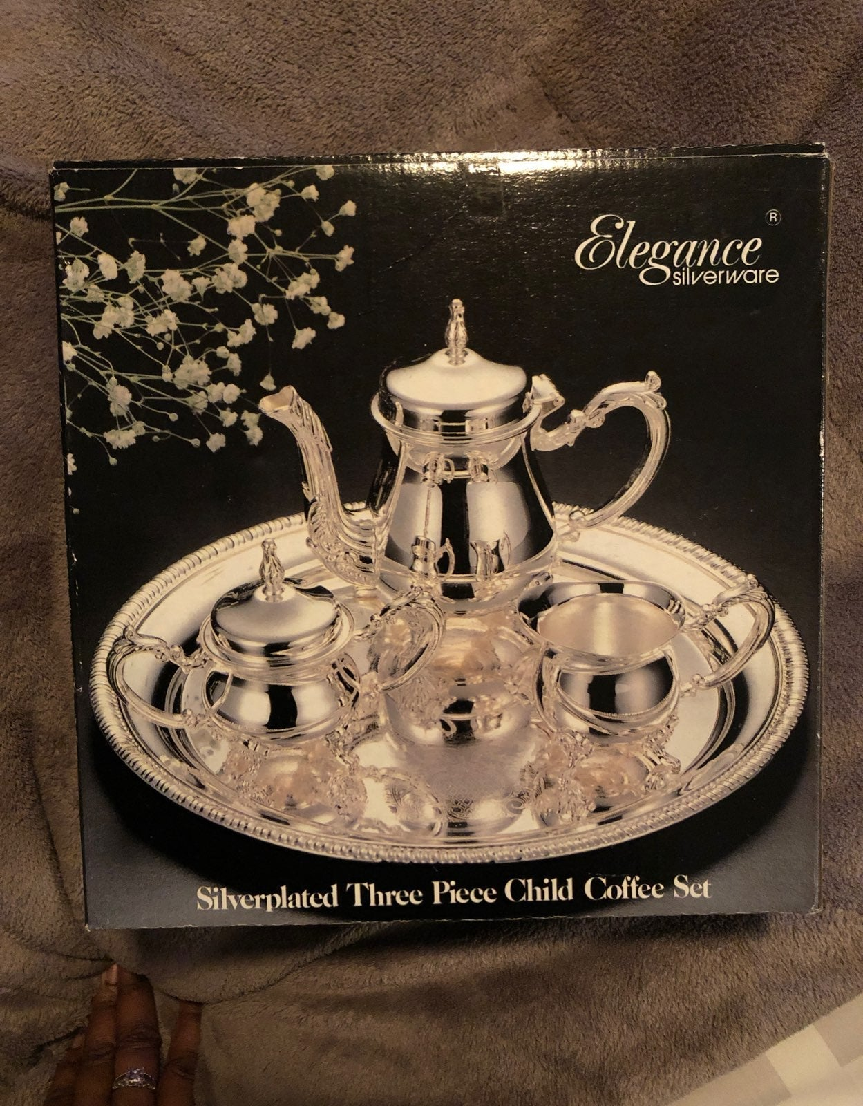 Petite Childs Size Silver Plated Coffee
