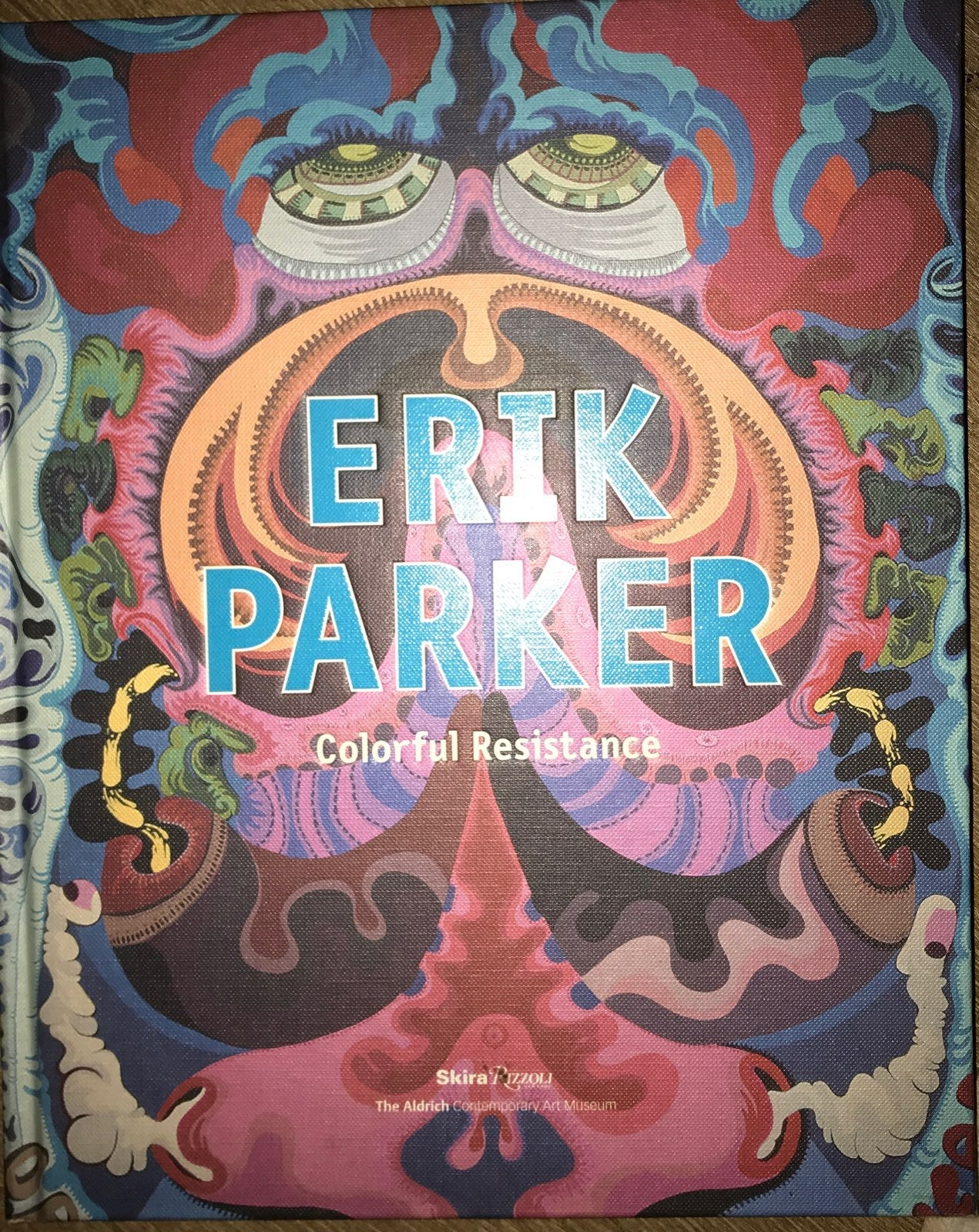 coffee table book of art by Erik Parker