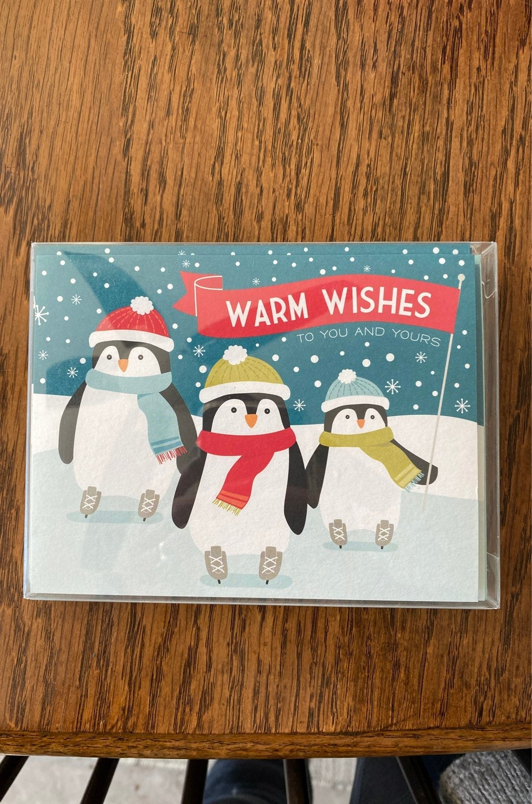 NIB Paper Source Penguin Holiday Cards