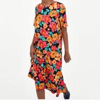 8812576e99f Zara Floral Dress Size Medium