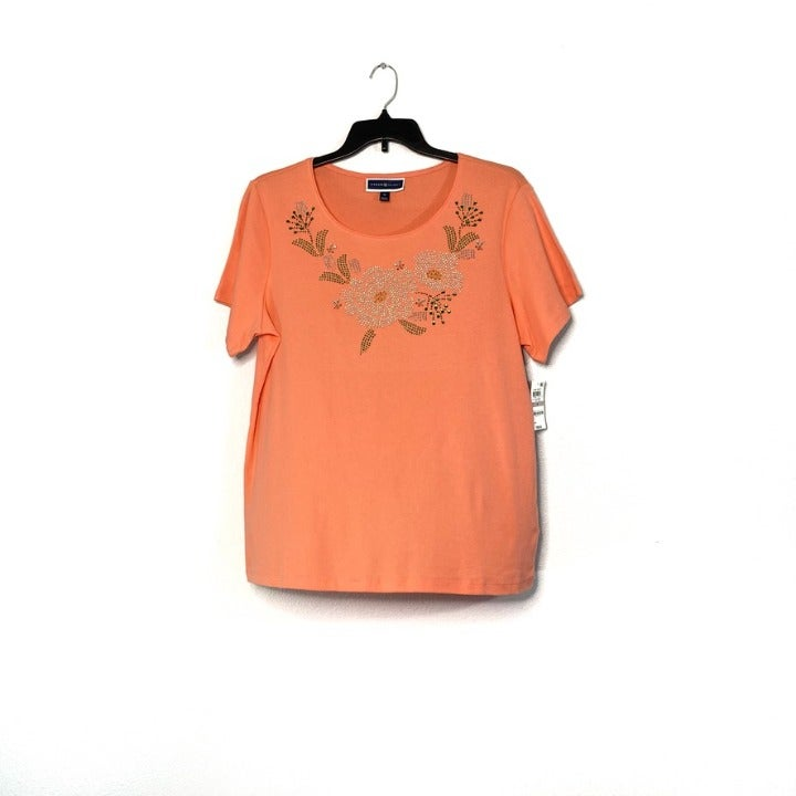 NWT Karen Scott Plus Size T-Shirt #4