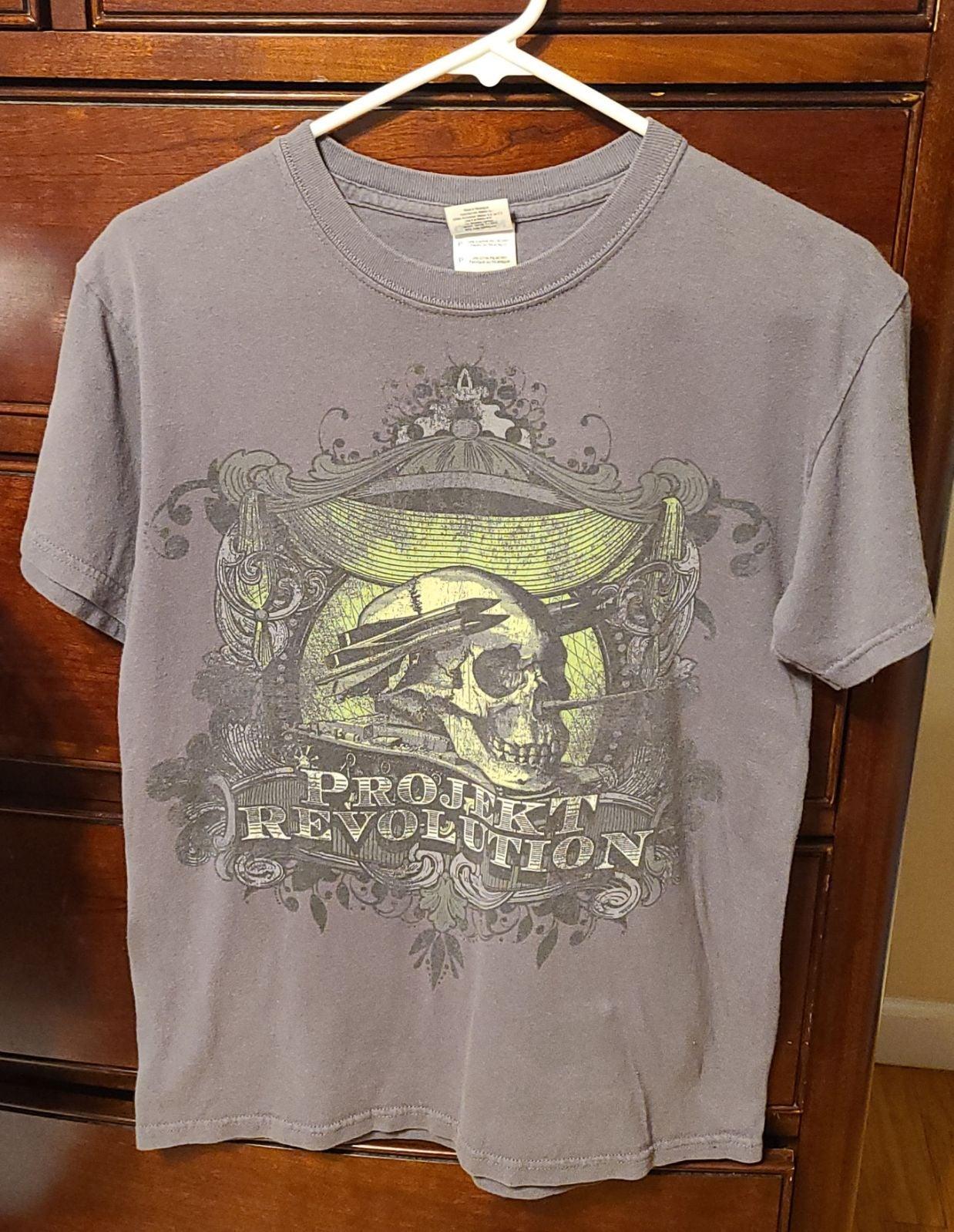 Project Revolution Concert Tshirt Size S