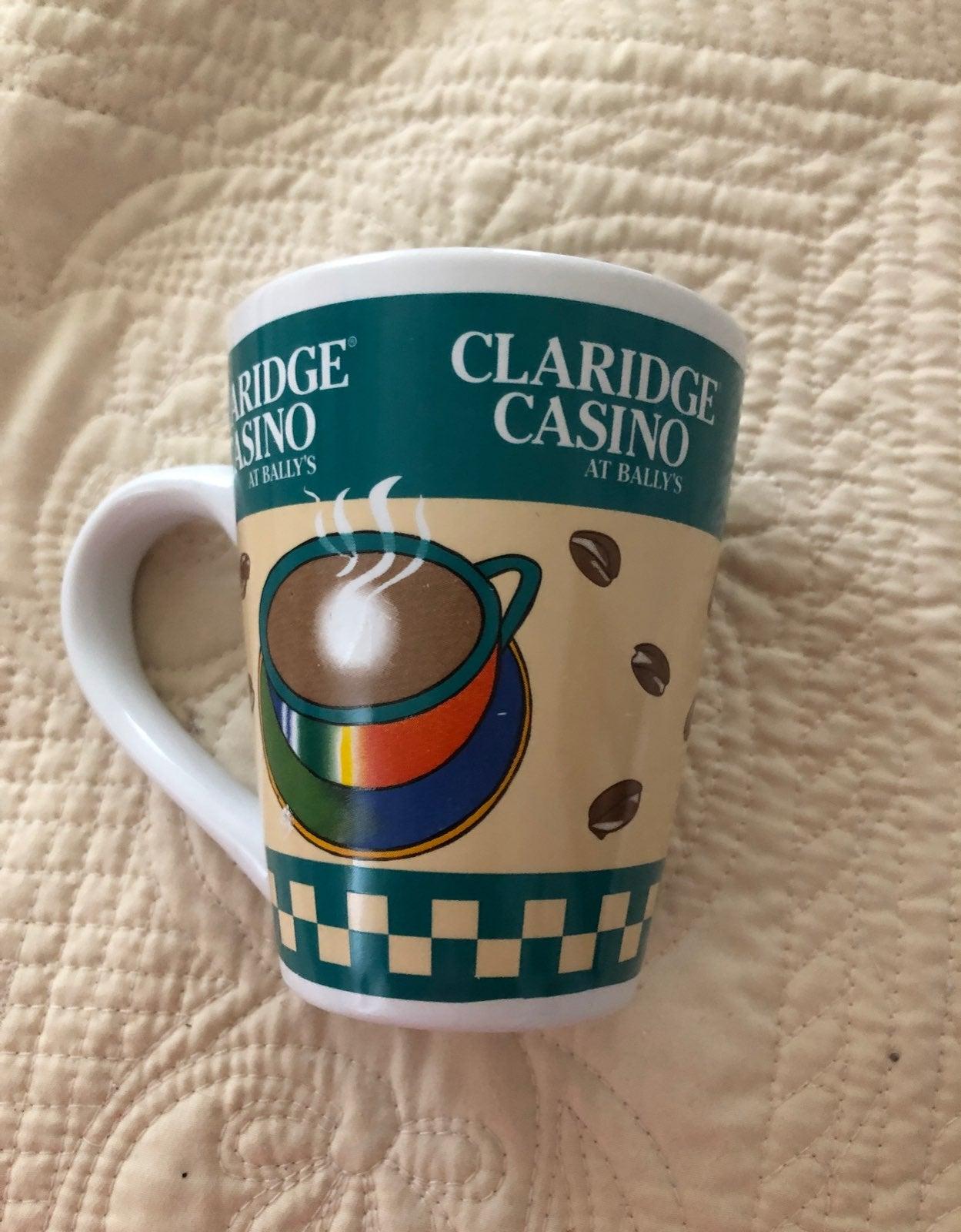 Claridge Casino mug
