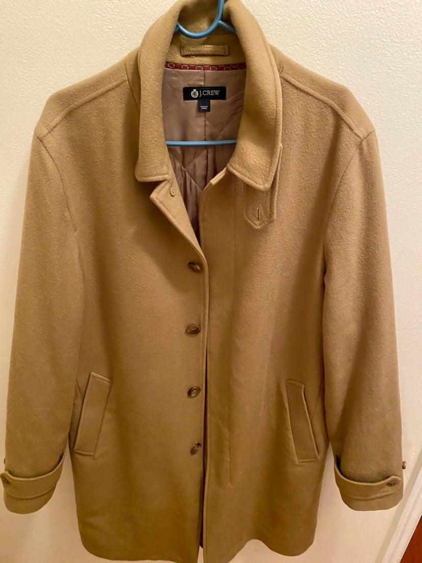 J crew mens coat