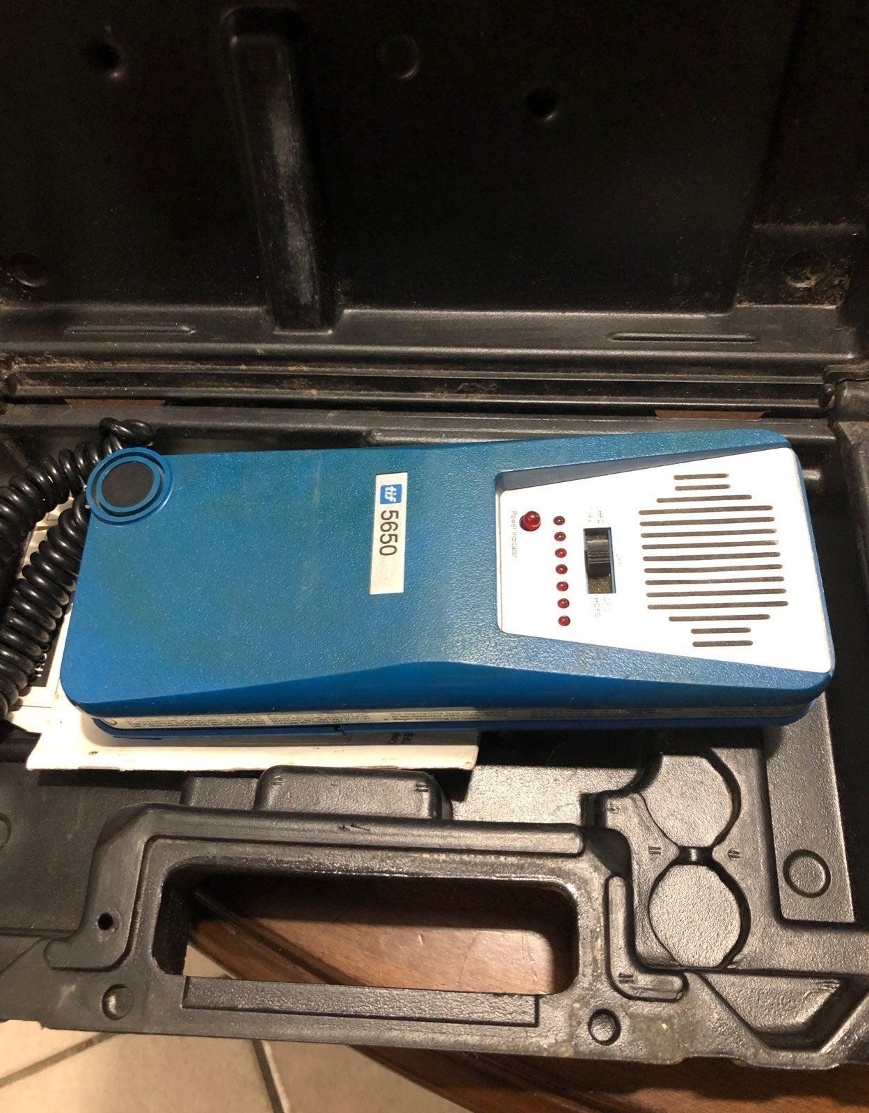 Tif 5650 halogen leak detector