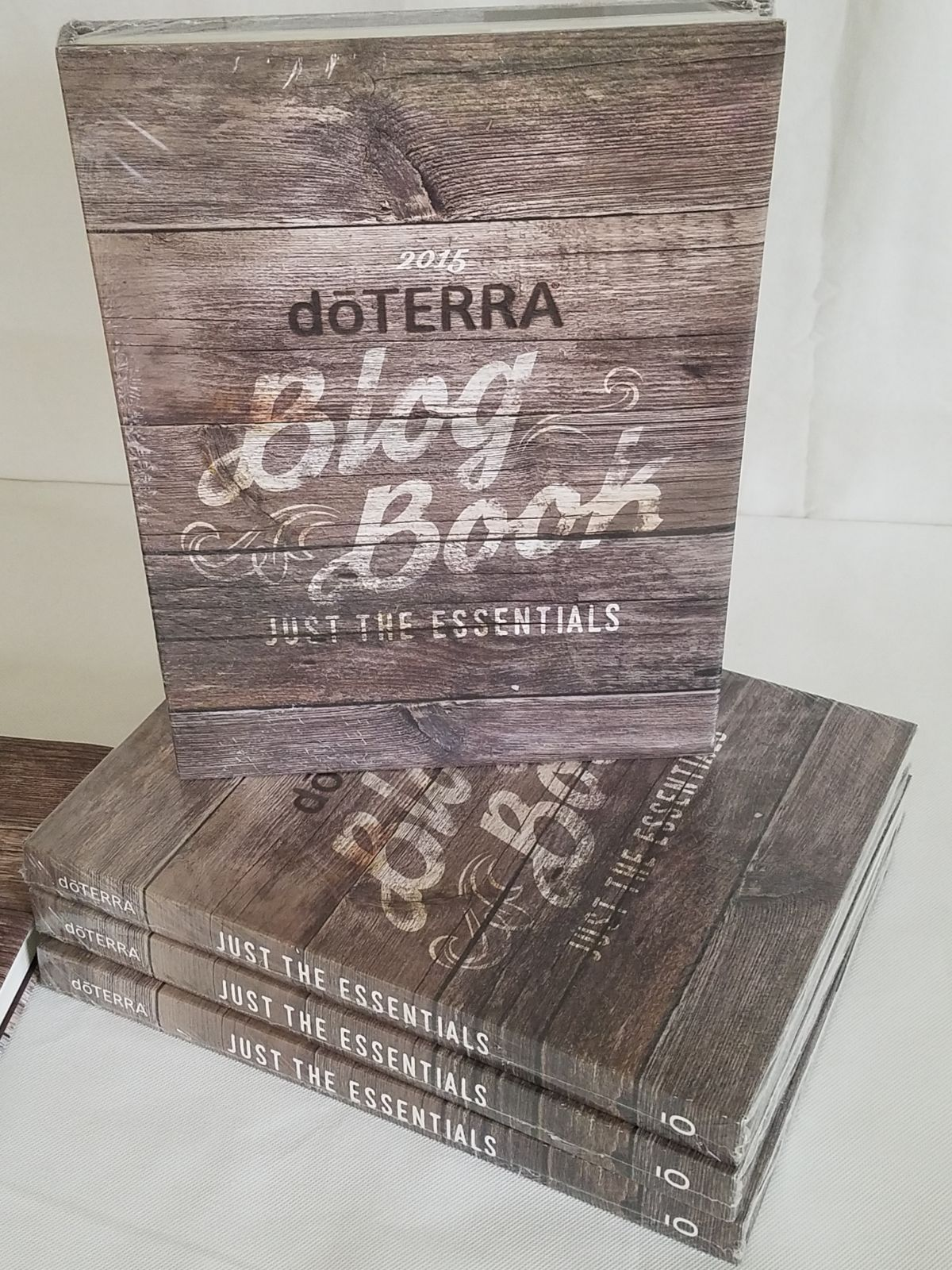 doTERRA Blog Book Just the Essentials