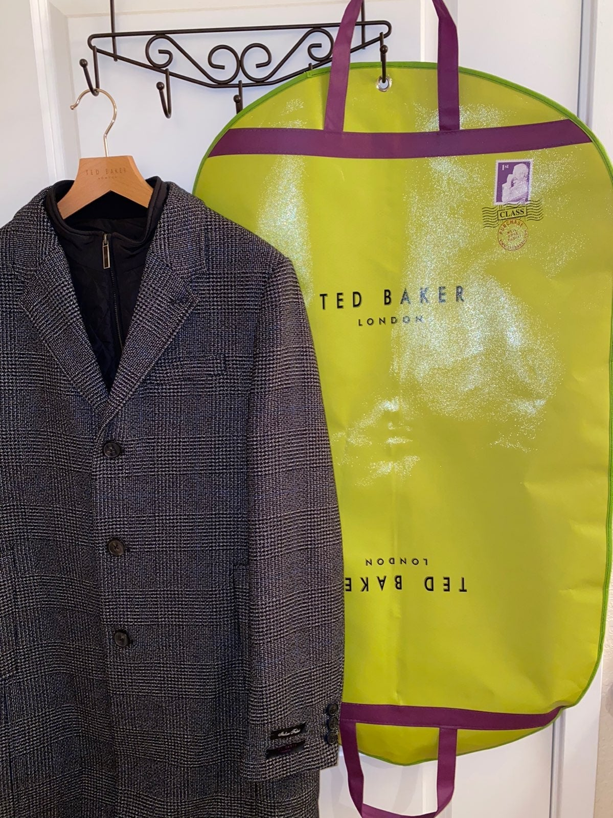 Ted Baker Wool Coat Size 40