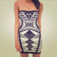 24740cc77aa9 Bodycon Dress / Strapless Dress
