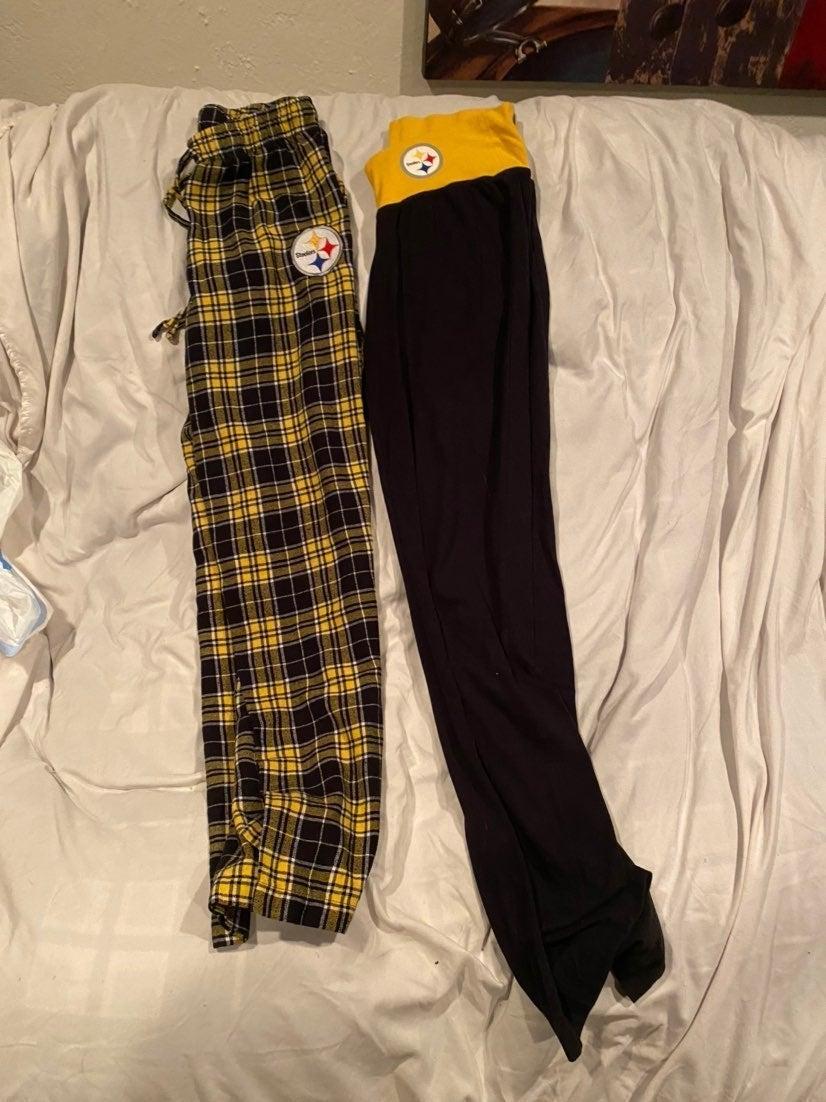Bundle Steelers women's pants 2 pair siz