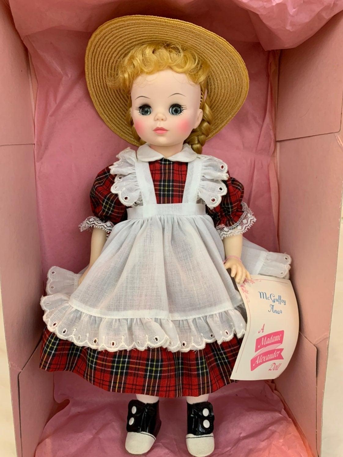 Madame Alexander McGuffey Ana Anna Doll