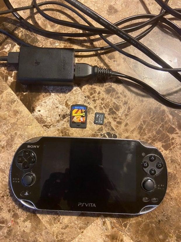 PS Vita w/ memory card and Borderlands 2