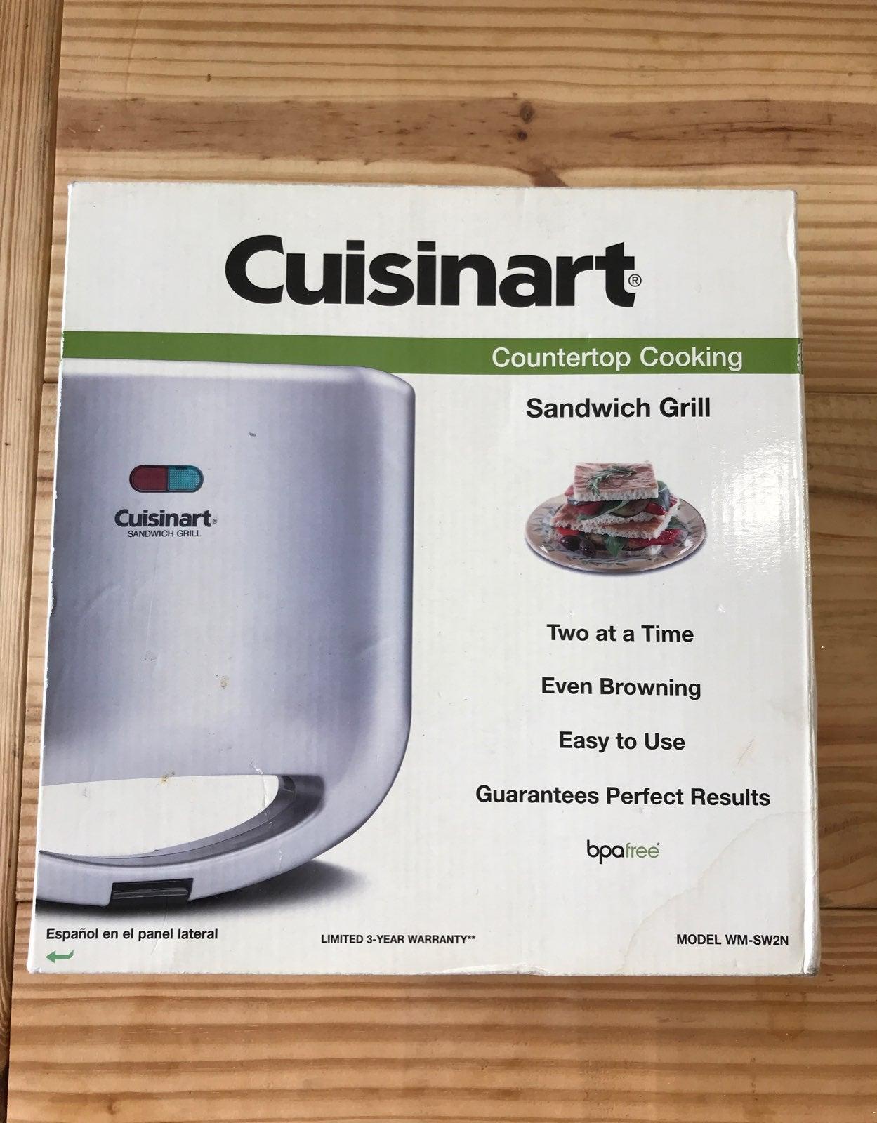 Cuisinart Countertop Cooking Sandwich Gr