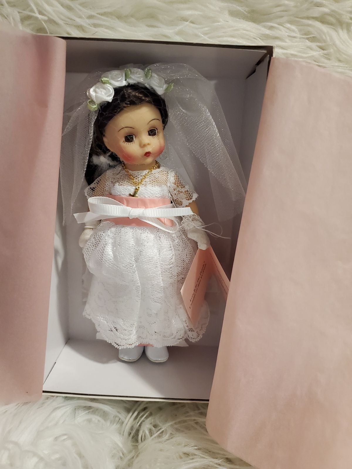 Madame Alexander First Communion doll 38