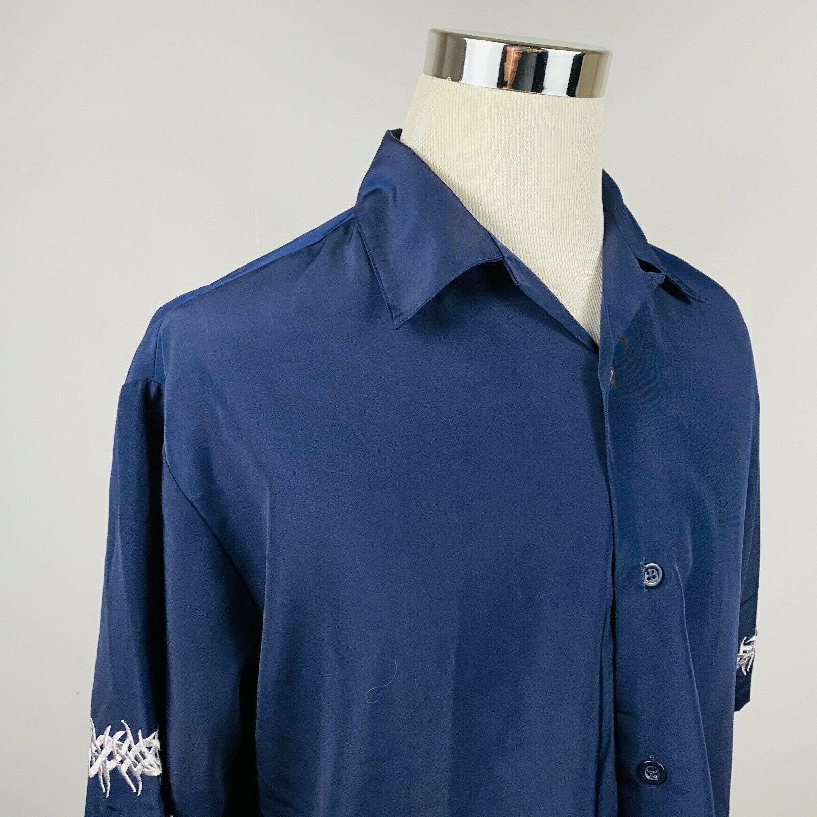 Sapphire Lounge Large Rockabilly Shirt