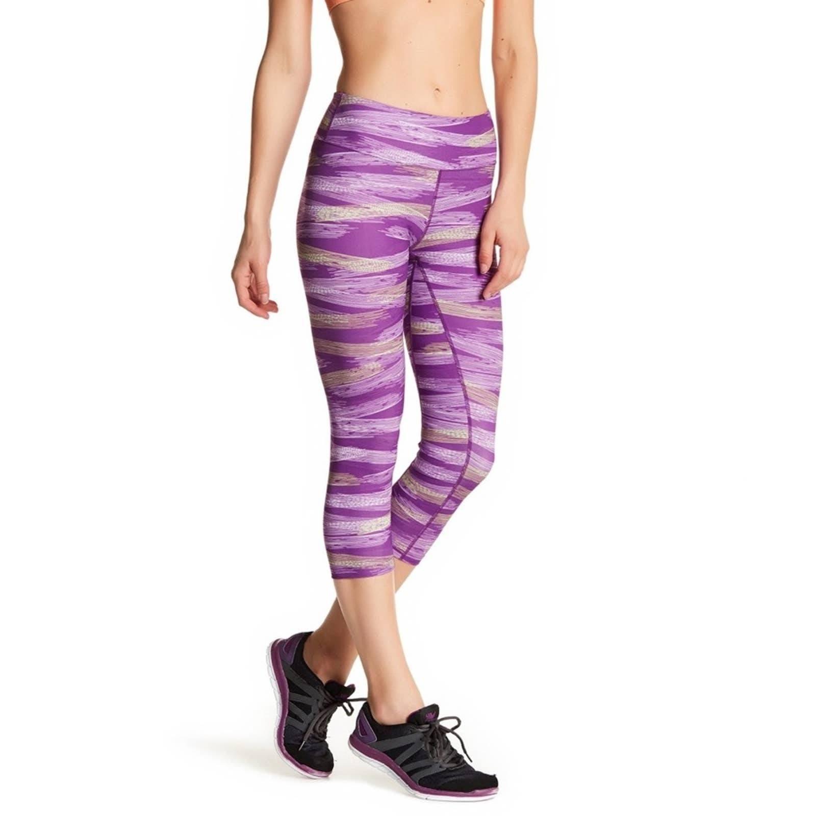 Asics Lite Show Purple Crop Leggings