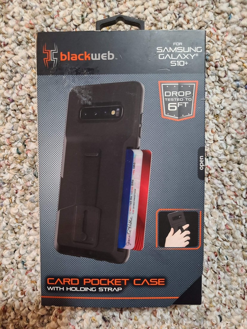 Samsung Galaxy S10 Plus phone case black