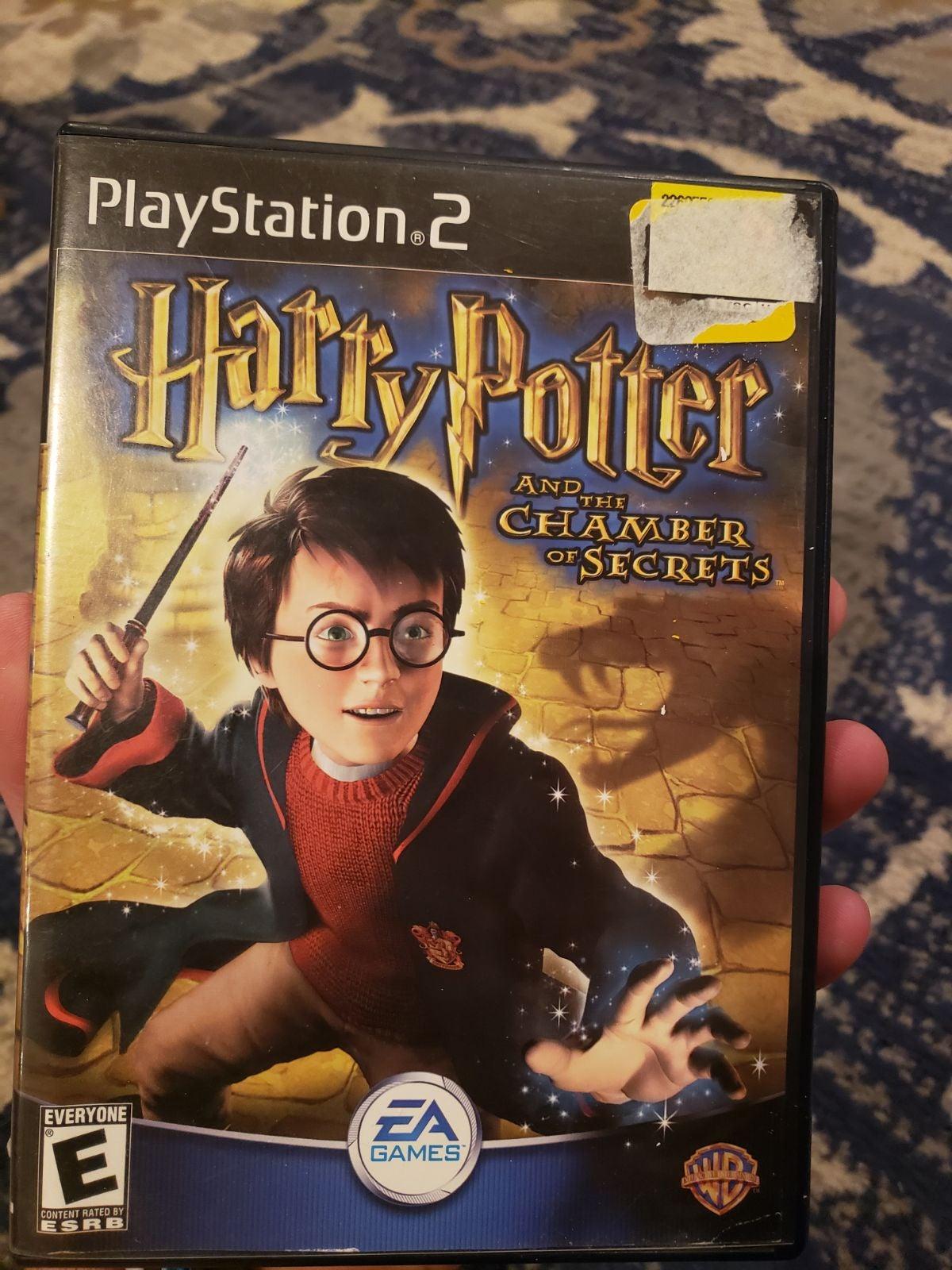 Harry Potter Chamber of Secrets PS2