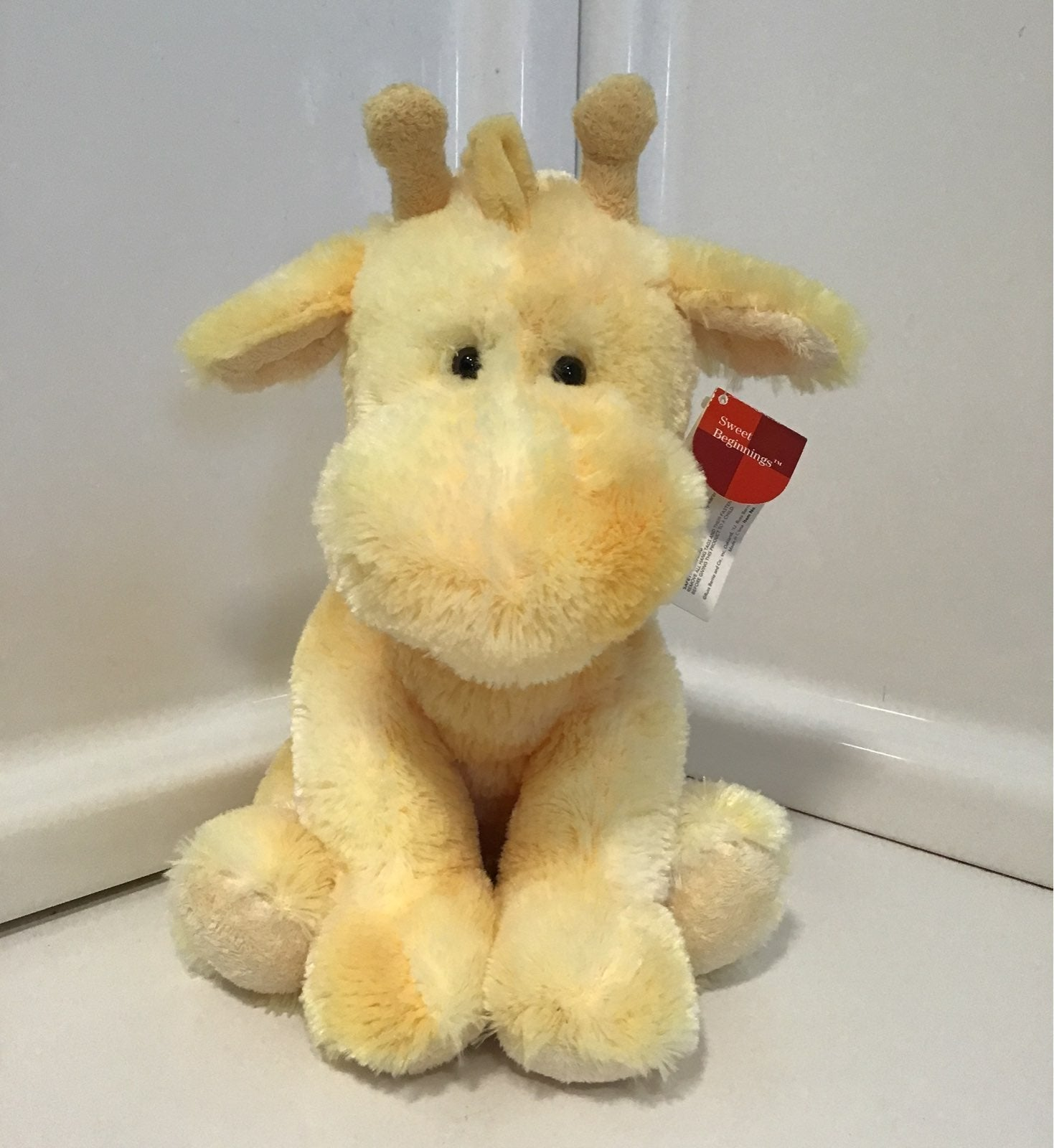 ButterCrunch Russ Baby Giraffe Plush