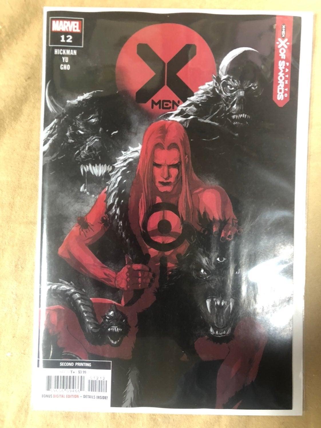 X-Men #12 2nd Print N/M High Summoner