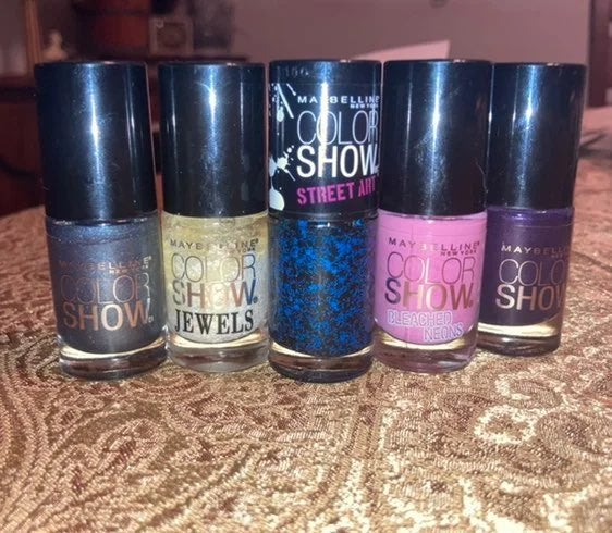 Maybelline COLOR SHOW Nail Polish FIRM$