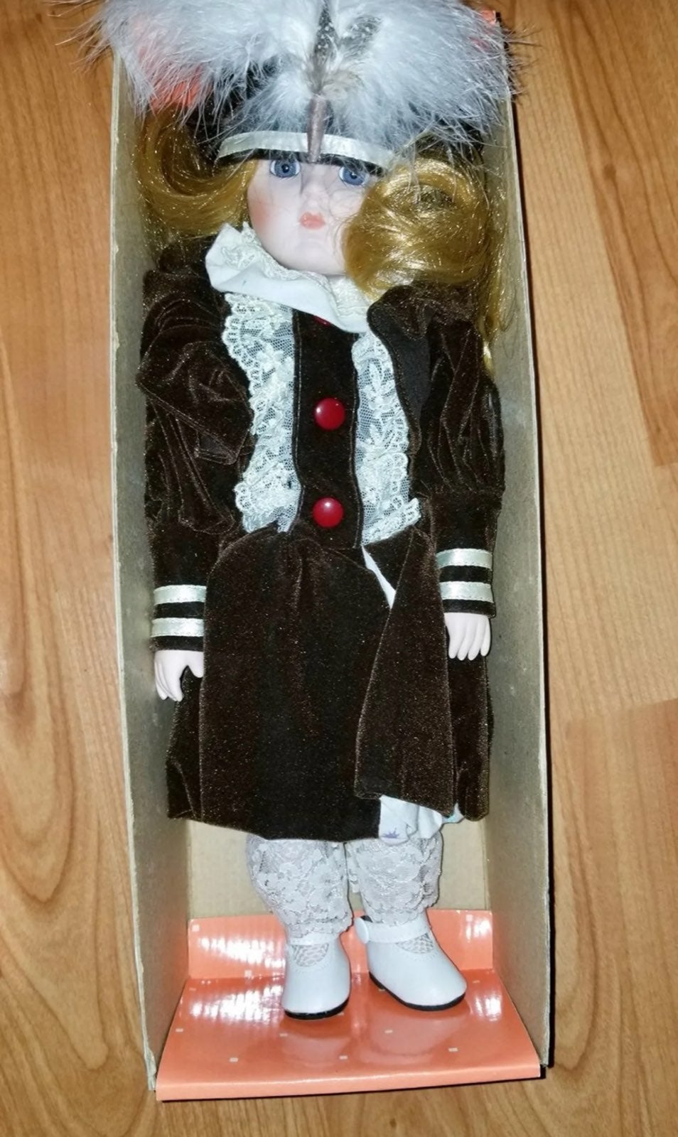 Rare Hello Dolly Porcelain Doll 1988
